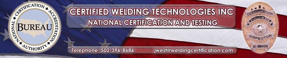 Certified Welding Technologies